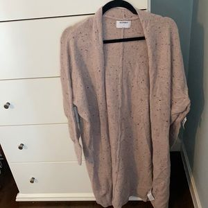 Old navy long cardigan sweater